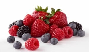 Berries antioxidants
