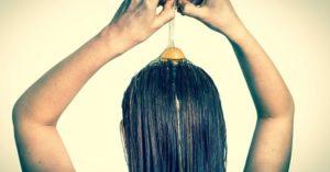 Egg yolk hair